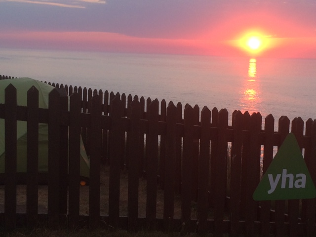 007 Sunset YHA Perranporth