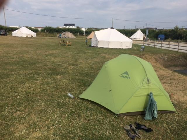013 Camping at Treyarnon