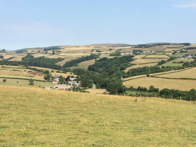 20180726 Looking down to Newchurch