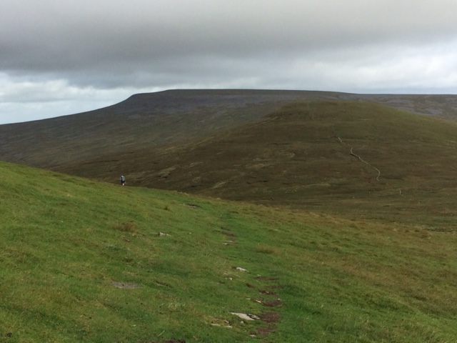 20180816 Little Dun Fell with Cross Fell on skyline