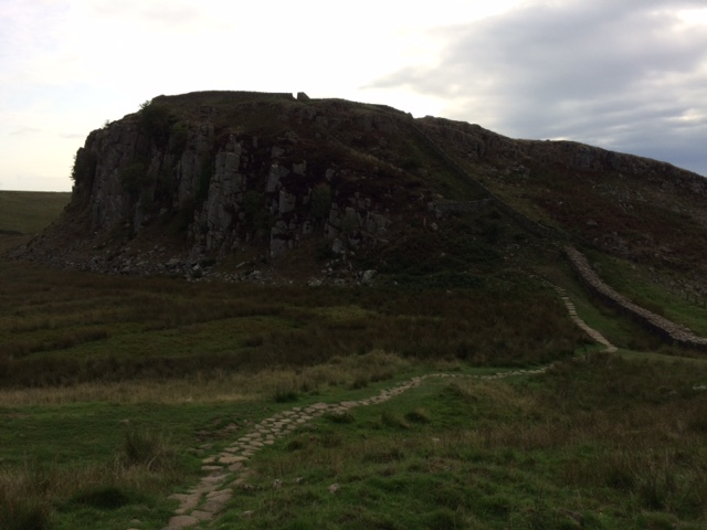 20180820 Hadrian's Wall and Peel Crags