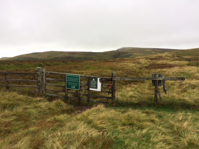 20180822 Leaving the Pennine Way for Dere Street