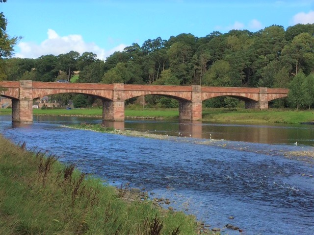 20180824 Mertoun Bridge over the river Tweed