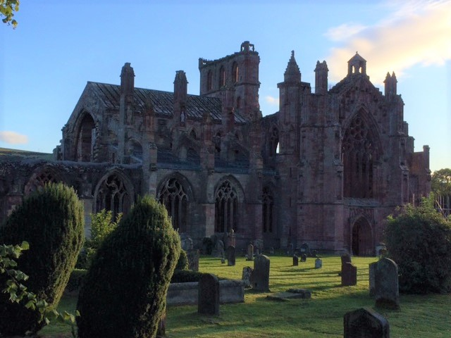 20180825 Melrose Abbey