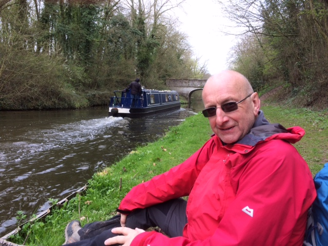 20190331 Lunch by Shropshire Union Canal