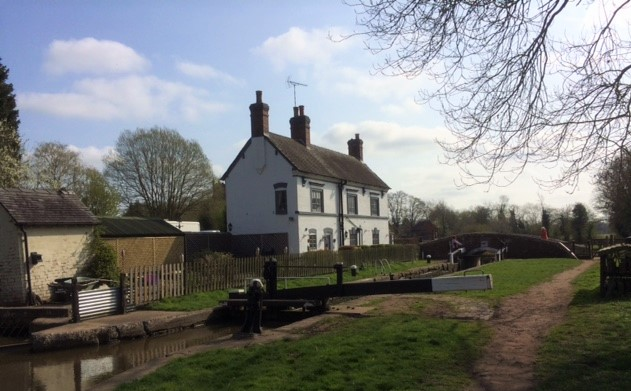 20190401 Trent and Mersey Canal near Bishton