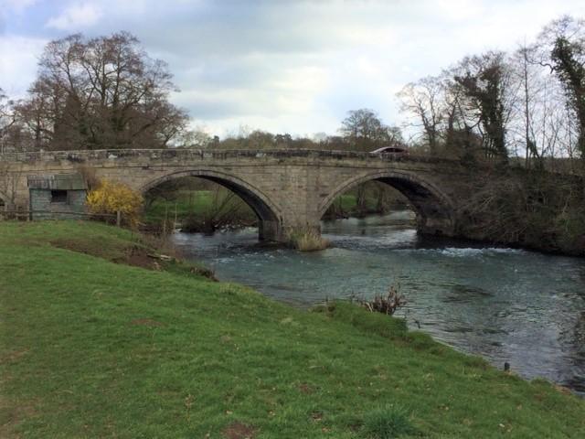 20190402 River Dove at Ellastone Bridge