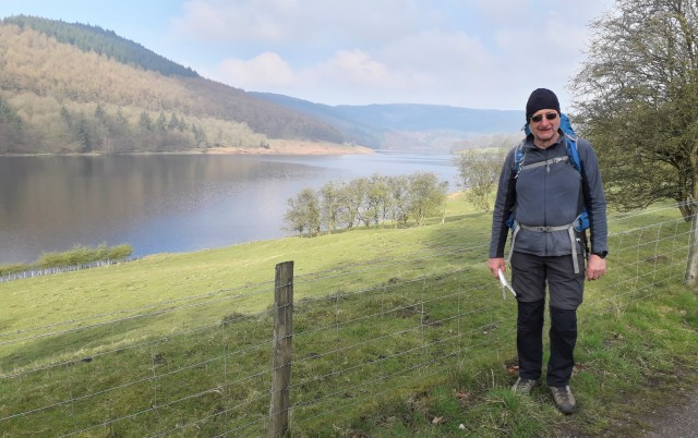 20190406 Neil with the reservoir in the background