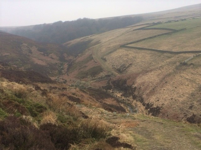 20190407 Descending to Marsden Clough