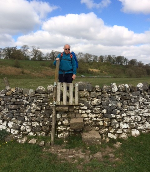 20190411 A typical Yorkshire step stile