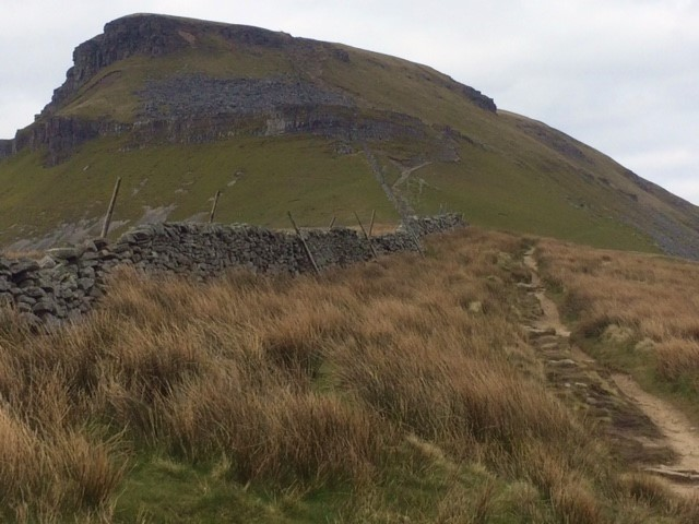 20190412 Path up Pen-y-Ghent