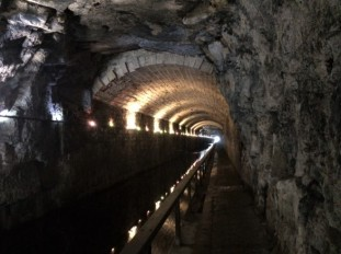 Inside the Falkirk Tunnel