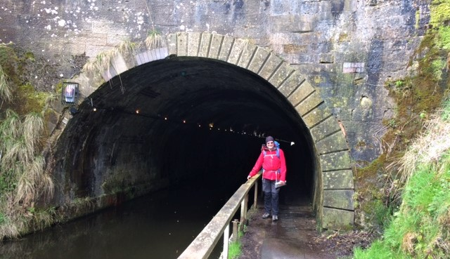 20190417 Neil at the Falkirk Tunnel