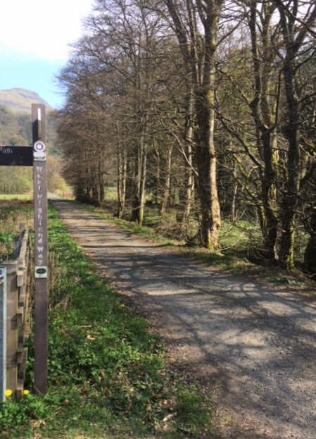 20190419 Joining the West Highland Way