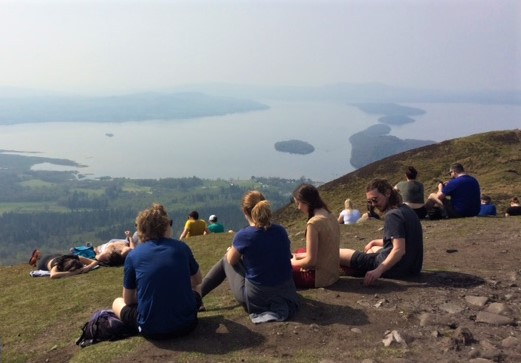 20190421 Summit of Conic Hill