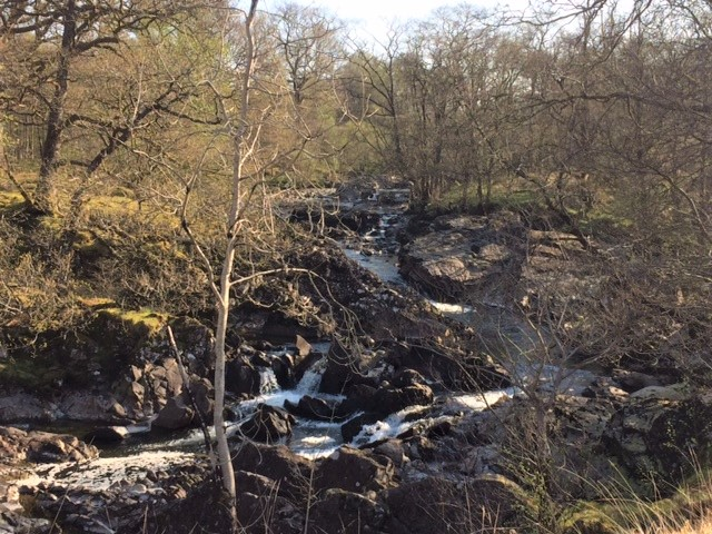 20190422 Waterfall on the River Falloch
