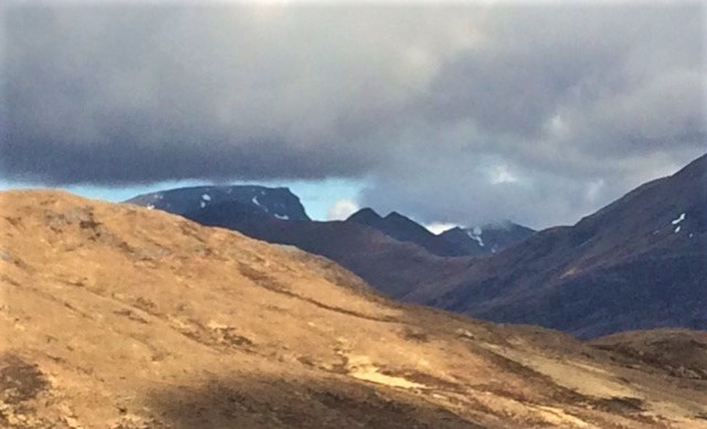 20190425 Ben Nevis and the Mamores from the Devil's Staircase Pass