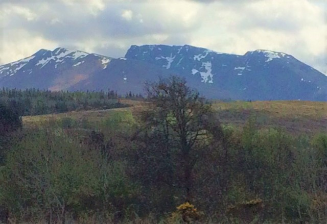 20190428 Carn Mor Dearg with Ben Nevis in the distance