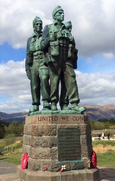 20190428 Commando Memorial at Spean Bridge