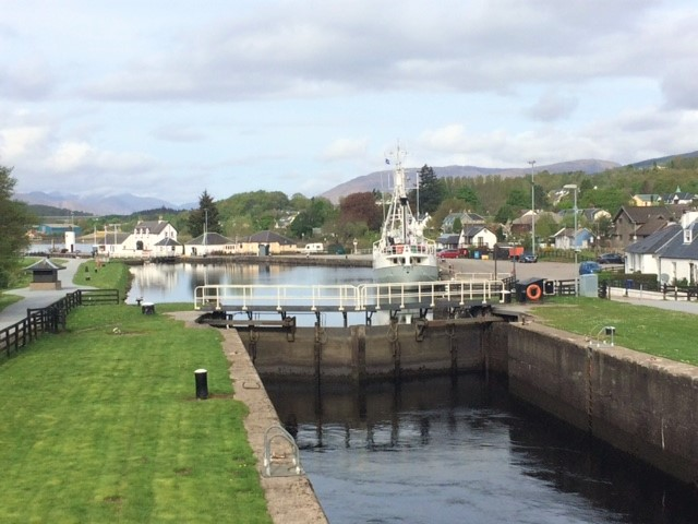 20190428 Corpach Sea Loch - entrance to the Caledonian Canal