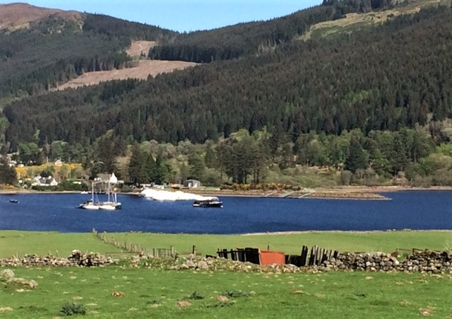 20190429 Looking down on Laggan Locks