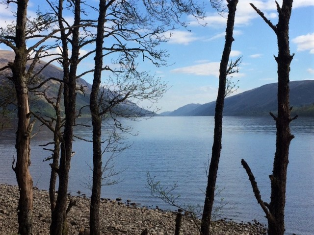 20190429 Looking up Loch Lochy