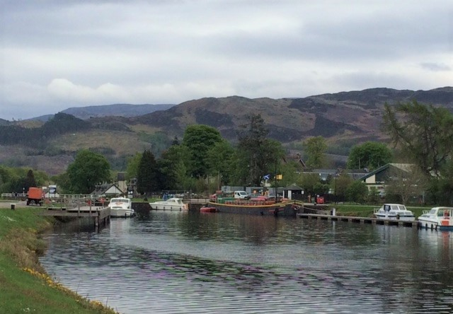 20190430 Approaching Fort Augustus
