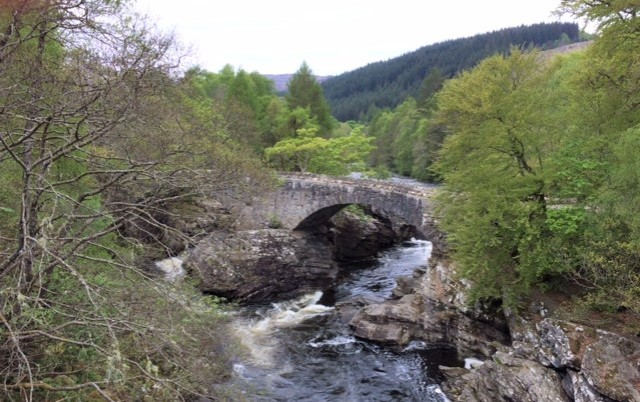 20190501 Telford's bridge at Invermoriston