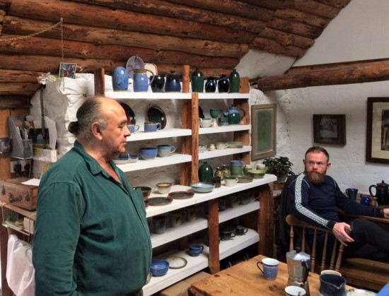 20190502 Loch Ness Pottery Teashop - A port in the storm