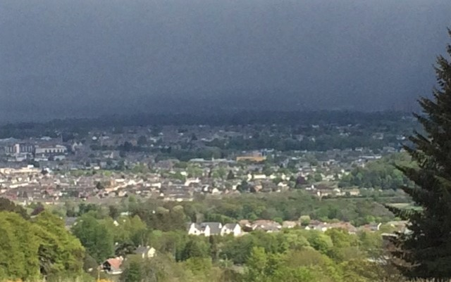 20190503 Storm clouds over Inverness