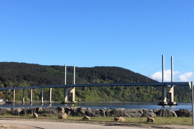 20190512 Kessock Bridge over the Beauly Firth at Inverness