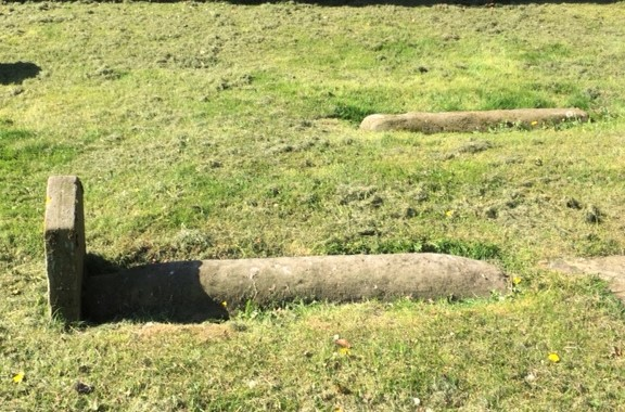 20190514 Viking burial stones at Tain