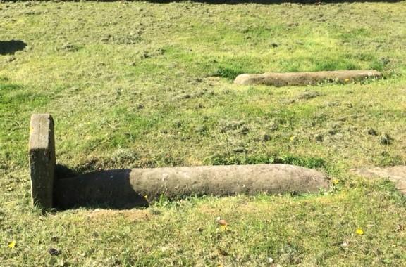 20190514 Viking burial stones at Tain