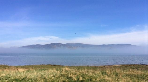 20190515 Mountains and mist over loch fleet