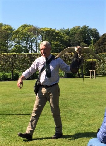 20190516 Falconry at Dunrobin castle