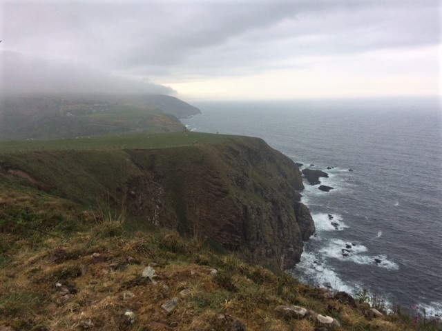 20190518 Big cliffs and bad weather