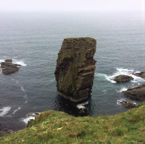 20190519 0915 Sea stack near Dunbeath