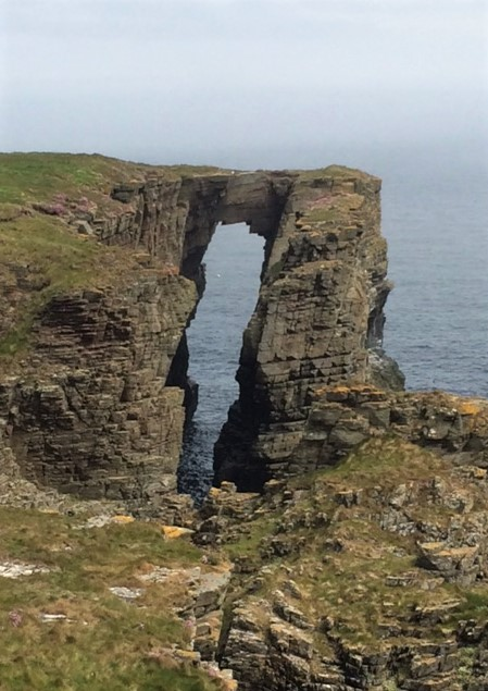 20190520 Sea arch near Wick Castle