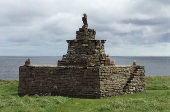 20190521 Mervin Tower at Nybster Broch